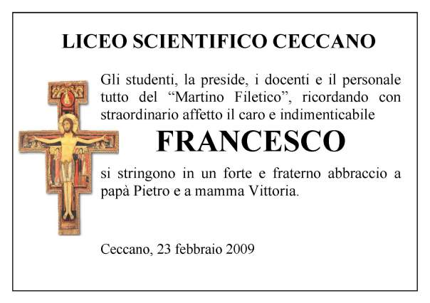 manifesto-francesco-liceo-scientifico-ceccano