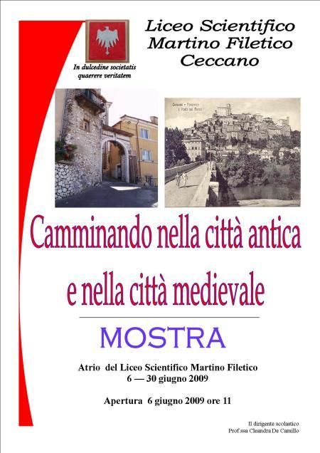 manifesto città medievale