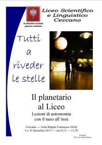 planetario 2013